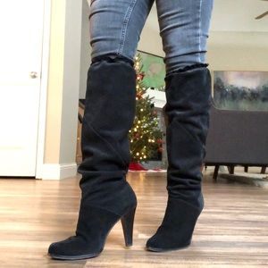"""Michael Kors """"Olivia"""" Slouchy Suede Boots"""